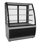 Прилавок холодильный кондитерский CARBOMA всхв-0,9д люкс техно