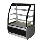 Прилавок холодильный кондитерский CARBOMA всхв-0,9д техно