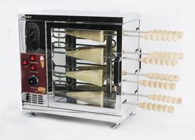 Аппарат для чешских трубочек AIRHOT TM-8 - Печь для трдельников