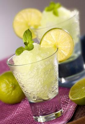 Лимонный щербет