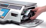 Торговые весы с принтером