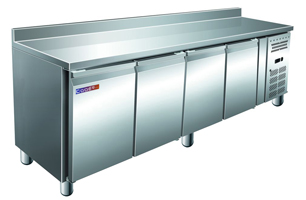 Стол с охлаждаемым шкафом COOLEQ GN4200TN бортик