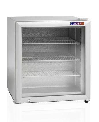 Шкаф морозильный со стеклом COOLEQ UF100G