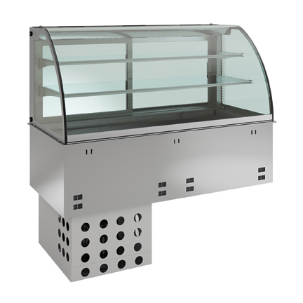 Emainox Встраиваемая охлаждаемая витрина