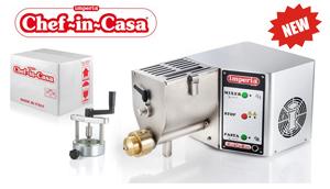 Imperia Машина для замешивания теста и приготовления пасты CHEF IN CASA 750