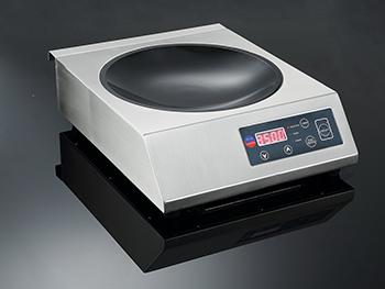 Внешний вид индукционной плитки IN3500 WOK