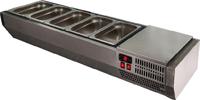 Витрина холодильная настольная POLAIR VT2-G без крышки