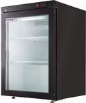Шкаф холодильный со стеклом POLAIR DM102-BRAVO черный
