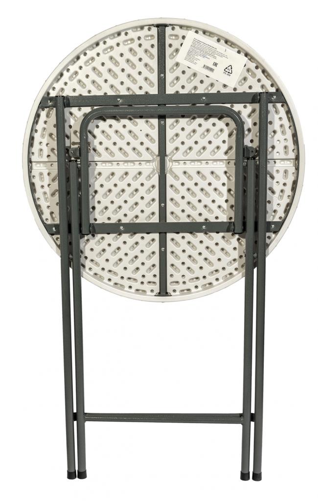 Стол кейтеринг барный S-0315 D.800 столешница пластик - вид снизу