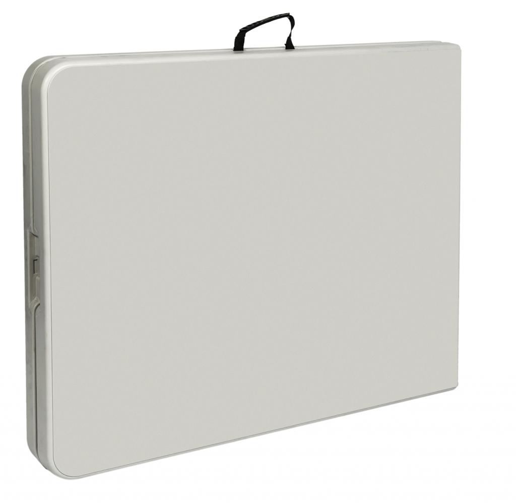 Стол для кейтеринга складной прямоугольный S-0312 2420x740 - в сложенном виде