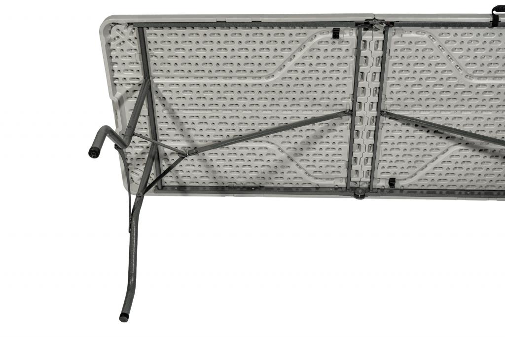 Стол для кейтеринга складной прямоугольный S-0312 2420x740 - вид снизу