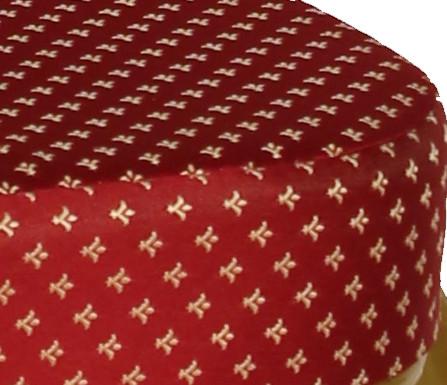 Стул банкетный ST-024 20мм Каркас золотой Обивка красная - Стандартные цвета