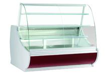 Прилавок холодильный кондитерский нарочь 125 ввк бордо