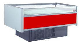 Бонета морозильная нарочь 180 ов со шторками красная
