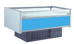Бонета морозильная нарочь 180 ов со шторками синяя