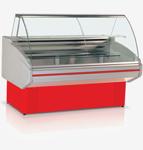 Прилавок холодильный кондитерский двина ввк красный