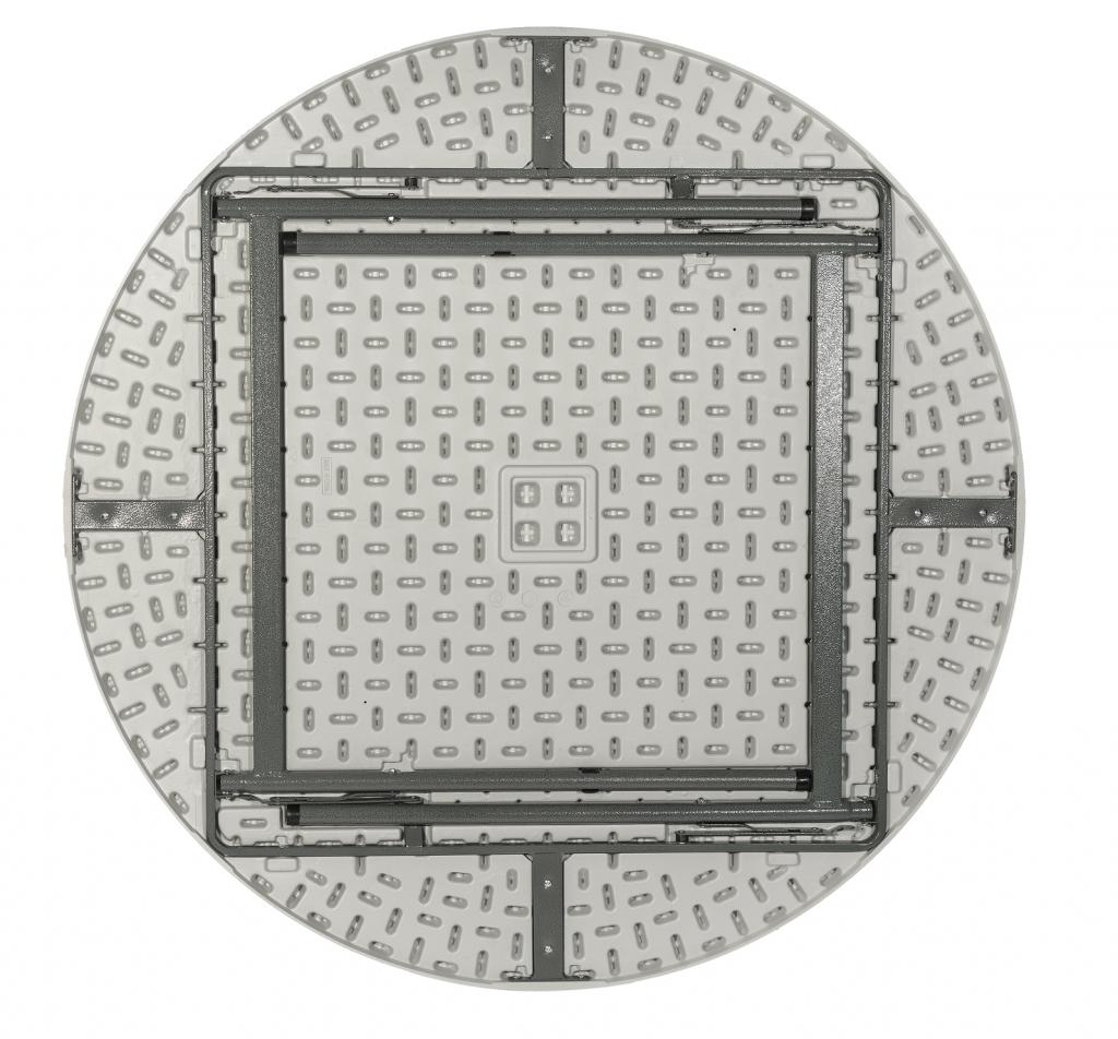 Стол для кейтеринга складной круглый S-0314 D.1600 - вид снизу
